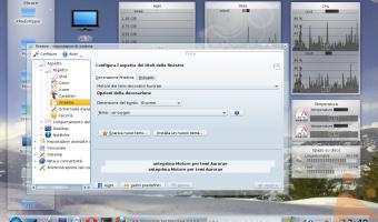 KDE 4.4.0 Aurorae all'opera..