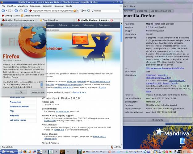 Mozilla Firefox 2.0.0.8