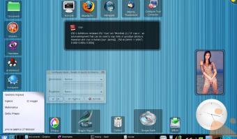 KDE 4.0.2 - Tema Ozone