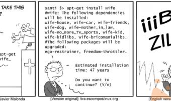 Vediamo come installare una nuova moglie