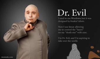 Dr Evil ..